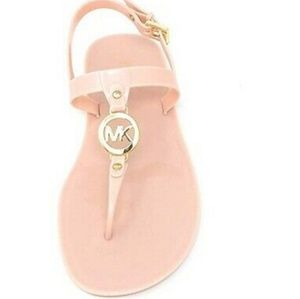 New Michael Kors sondra jelly logo sandals